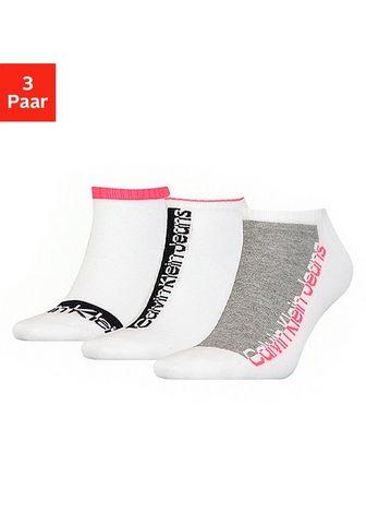 Calvin Klein Sneakersocken (3-Paar) su gepolsterter...