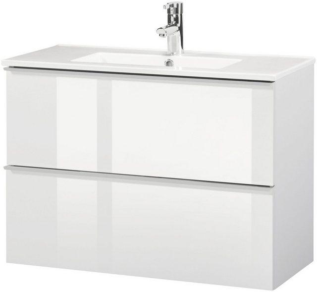 Waschtische - CYGNUS BATH Waschtisch »Malaga 800«, Breite 80 cm, Tiefe 36 cm, SlimLine  - Onlineshop OTTO
