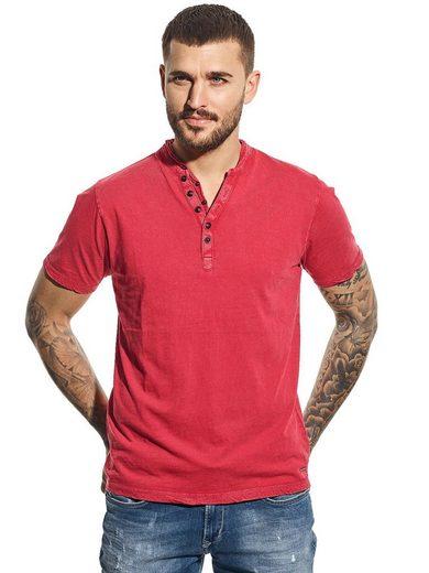 emilio adani T-Shirt »Henley Shirt«