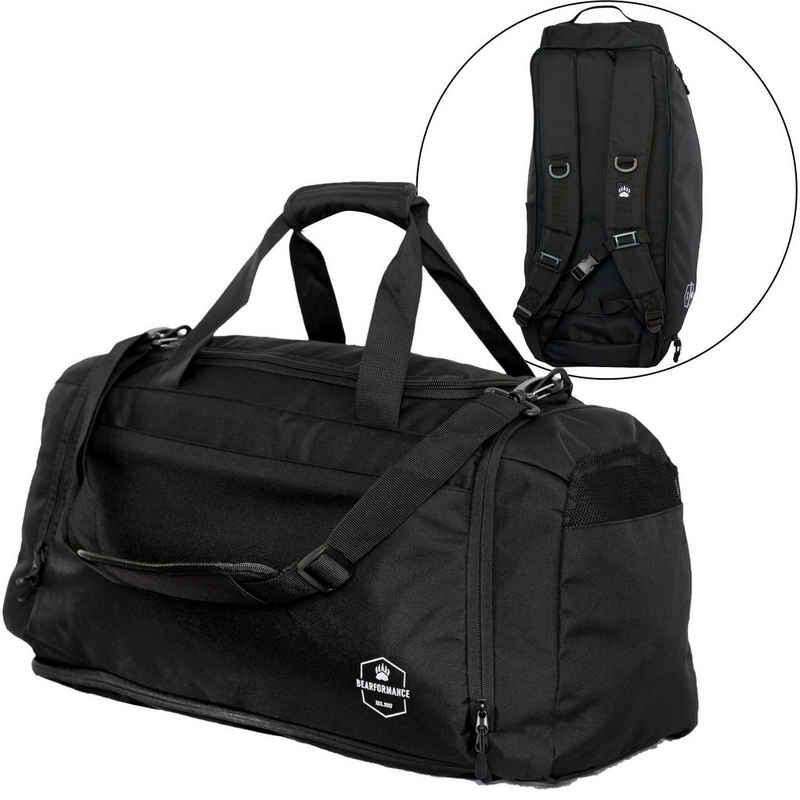 Bearformance Sporttasche »Ultimate Sportbag«, mit Schuhfach, Nassfach und Rucksackfunktion