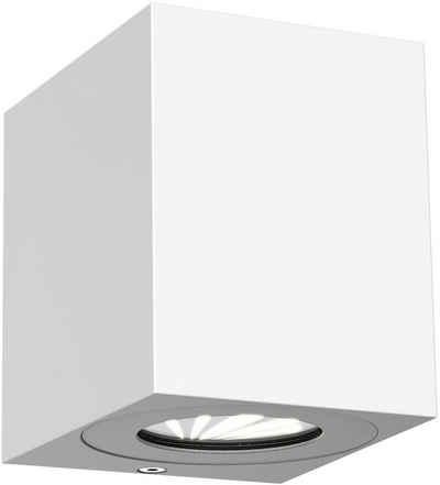 Nordlux LED Außen-Wandleuchte »Canto 2«, inkl. Verschiedene Lichtschablonen