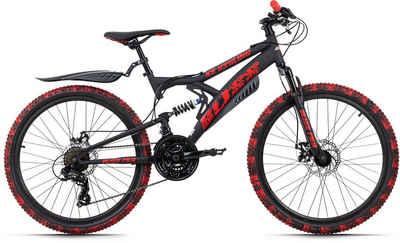 KS Cycling Mountainbike »Bliss Pro«, 21 Gang Shimano Tourney Schaltwerk, Kettenschaltung