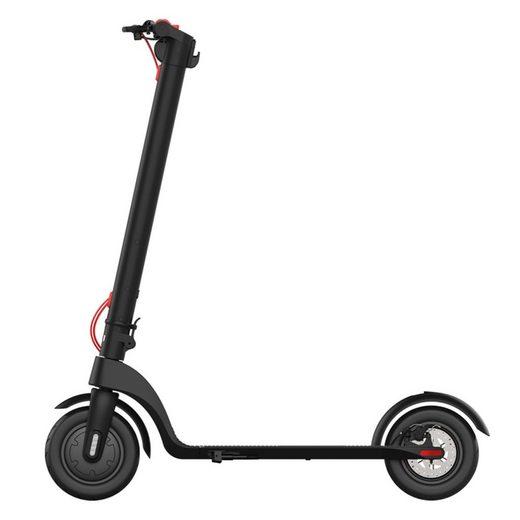 Fortuna Lai E-Scooter »X7«, 350 W, 32,00 km/h, 8.5 Zoll Reifen, 20 km Reichweite, LCD Anzeige mit LED-Scheinwerfer, Bremslicht, belastbar bis 100kg
