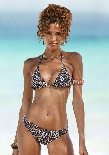 LASCANA Triangel-Bikini-Top »Lexa«, mit Muschelkante