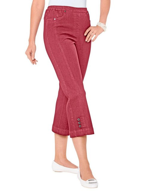 Hosen - Classic Basics 7 8 Jeans › rot  - Onlineshop OTTO