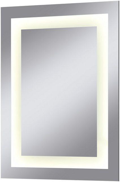 WELLTIME Badspiegel »Miami«  LED-Spiegel  45 x 60 cm   Bad > Spiegel fürs Bad > Badspiegel   welltime