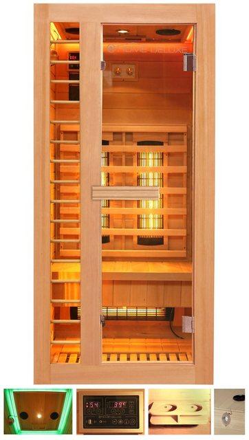 Saunen und Zubehör - HOME DELUXE Infrarotkabine »Redsun S Deluxe«, 90x90x190 cm  - Onlineshop OTTO
