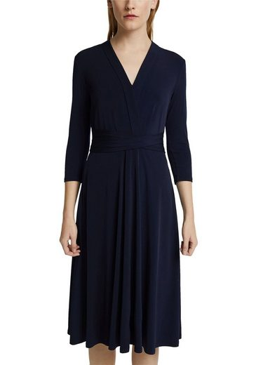 Esprit Collection Jerseykleid Tailliengürtel