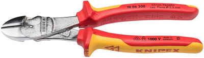 Knipex Kraftseitenschneider, (1-tlg), 200 mm