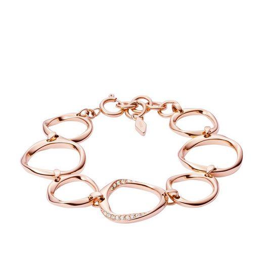 Fossil Armband »BR GLITZ TWST Z ROSE GOLD«