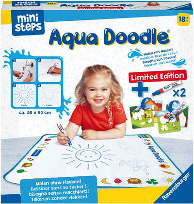 Ravensburger Kreativset »ministeps® Aqua Doodle® Limited Edition«, inkl. 2 Stiften; Made in Europe