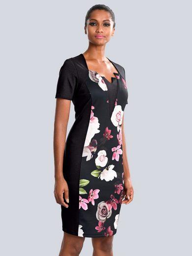 Alba Moda Kleid mit modischer Auschnittlösung