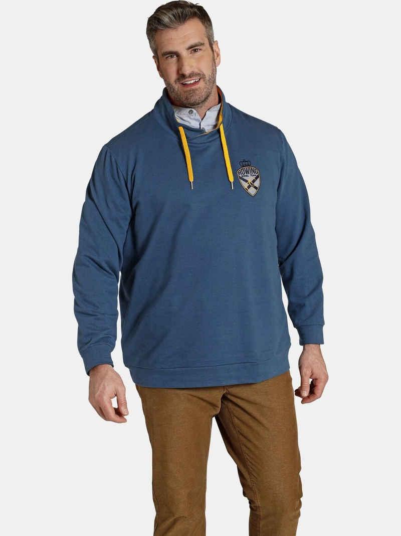 Charles Colby Sweatshirt »EARL ANEIRA« spezieller Bauchschnitt