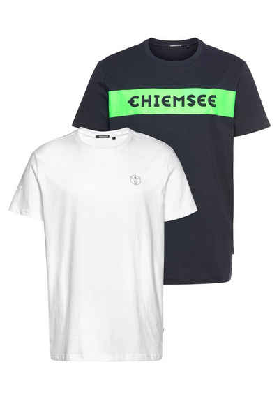 Chiemsee T-Shirt (Packung, 2-tlg., 2er-Pack)