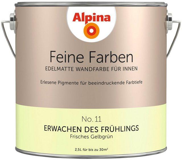 Alpina Feine Farben Erwachen des Frühlings, grün