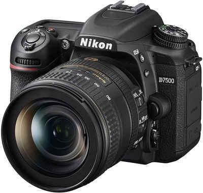 Nikon »D7500 KIT AF-S DX 16-80mm f2.8-4E ED VR« Spiegelreflexkamera