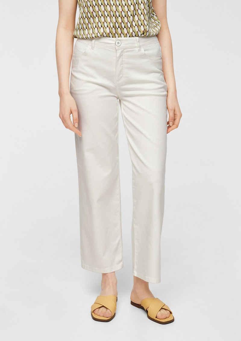 Comma 5-Pocket-Jeans »Slim Fit: Wide leg-Jeans«