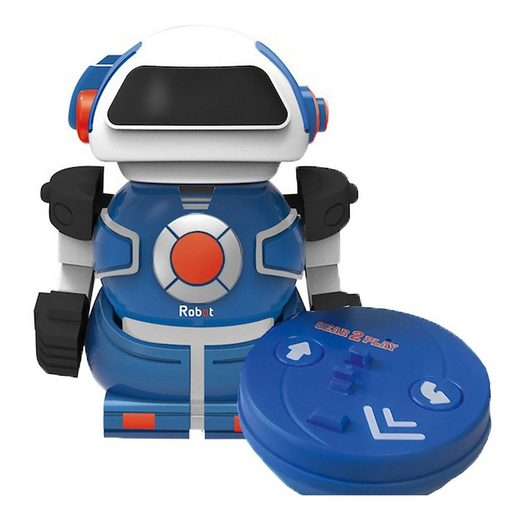 Gear2Play Roboter »Mini Bot in can blau«