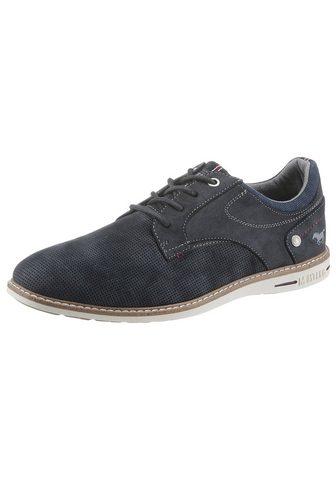 Mustang Shoes Suvarstomi batai su paminkštintas Scha...