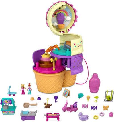 Mattel® Spielwelt »Polly Pocket, Ausklappspaß-Schatulle Eiswaffel«