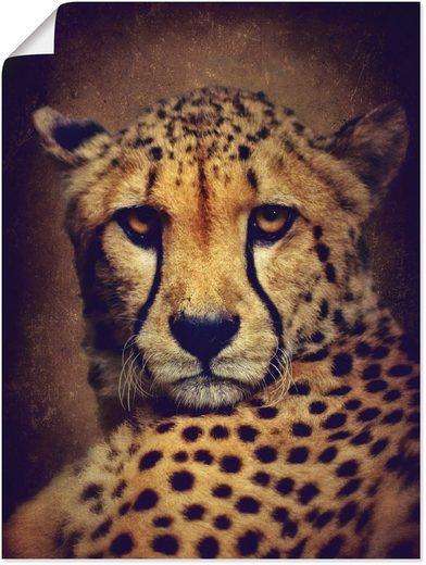 Artland Wandbild »Gepard«, Wildtiere (1 Stück)