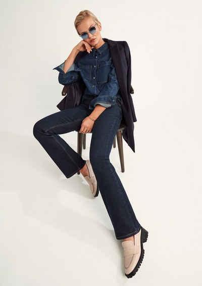 Comma Jeansjacke »Overshirt aus Jeansstoff«