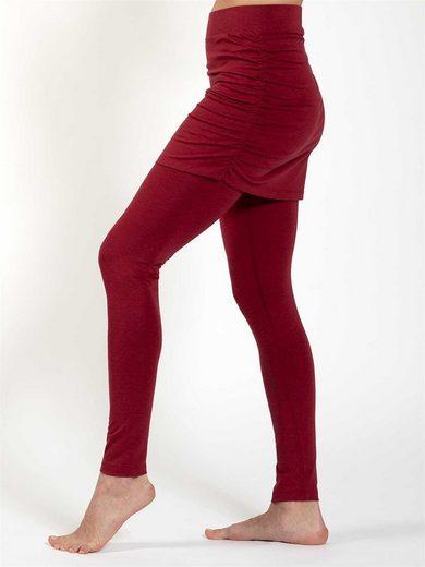 Magadi Leggings »Lara« mit Rock aus weichem Naturmaterial