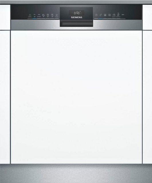 Küchengroßgeräte - SIEMENS teilintegrierbarer Geschirrspüler iQ300, SN53HS36TE, 12 Maßgedecke  - Onlineshop OTTO