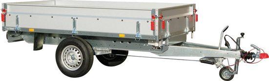 STEMA PKW-Anhänger »BASIC SH 1300-25-13«, max. 950 kg, Set, inkl. 100 cm Hochplanenset
