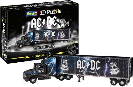 Revell® 3D-Puzzle »Tour-Truck AC/DC«, 128 Puzzleteile