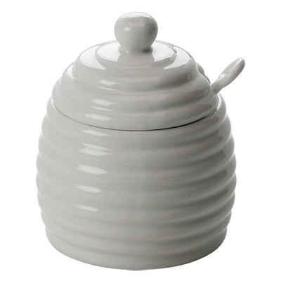 Maxwell & Williams Honigglas »mit Löffel«, Porzellan, (1-tlg)
