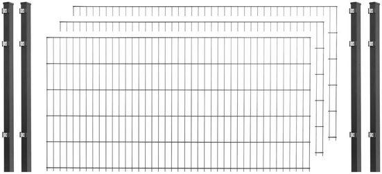 Arvotec Einstabmattenzaun, (Set), 120 cm hoch, 2 Matten für 4 m, 3 Pfosten