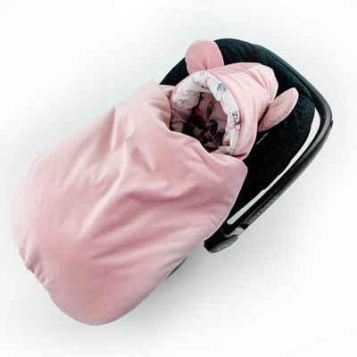 BABEES Fußsack »Baby Fußsack Babyschale Babyfußsack Einschlagdecke«