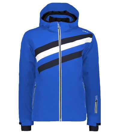 CAMPAGNOLO Skijacke »Campagnolo Stretch Hood Jacke Ski-Jacke wetterfeste Winter-Jacke für Herren Snowboardjacke Schnee-Jacke Blau«