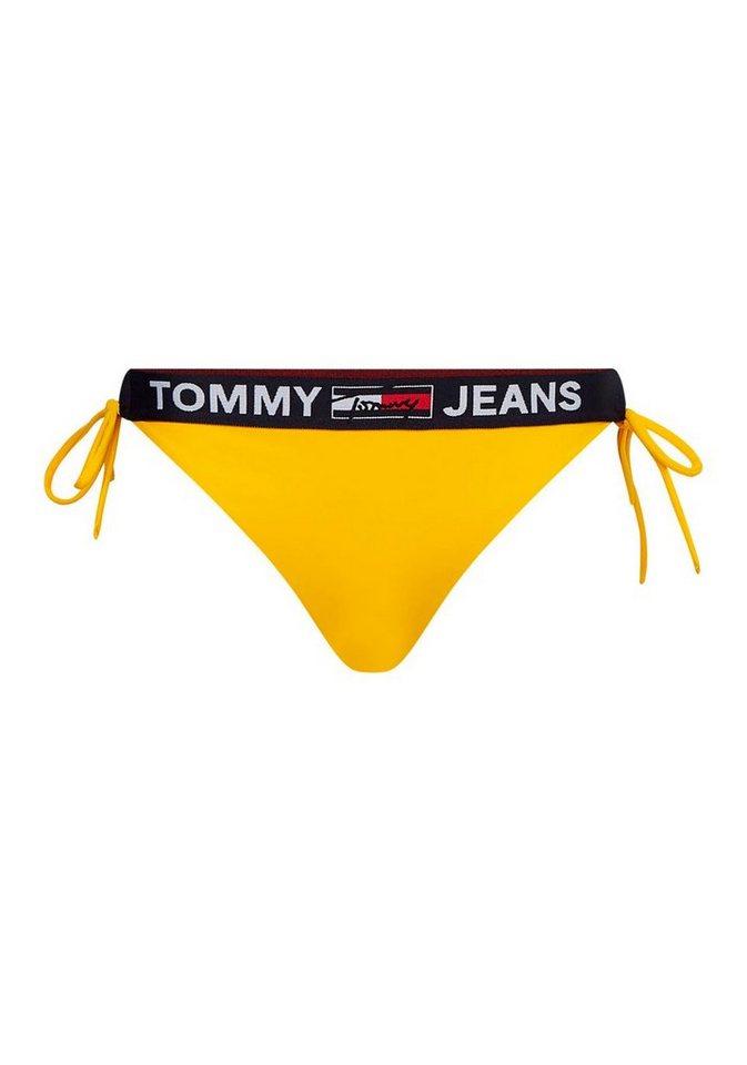 Bademode - TOMMY HILFIGER Bikini Hose, mit Logoband › gelb  - Onlineshop OTTO