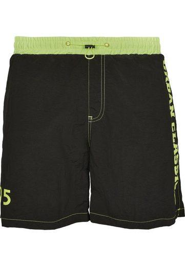 URBAN CLASSICS Shorts »UC Logo Swim Shorts -3707- auch in großen Größen«