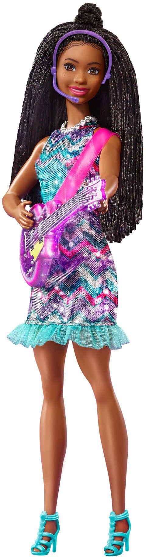 Barbie Anziehpuppe »Big City, Big Dream Brooklyn Puppe«, mit leuchtendem Kleid und Musik