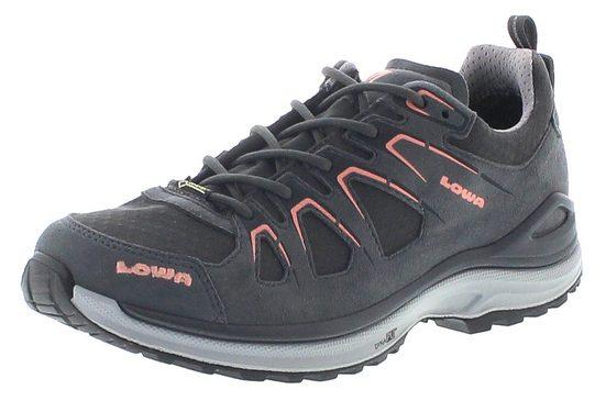 Lowa »Lowa Damen Nordic Waking Schuhe Innox Evo GTX Lo Ws wasserdichter Hikingschuhe Grau« Outdoorschuh