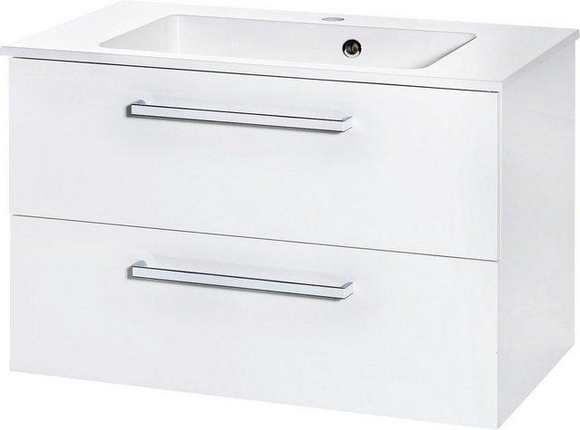 Waschtische - Schildmeyer Waschtisch »Siena«, Breite 77,3 cm, Mineralgussbecken, montiert  - Onlineshop OTTO