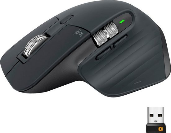 Logitech »MX Master 3 Advanced« Maus (Funk)