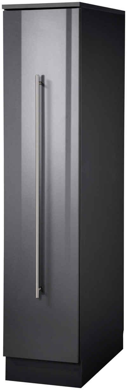 wiho Küchen Apothekerschrank »Chicago« 30 cm breit, 145 cm hoch, Auszug mit 3 Ablagefächern