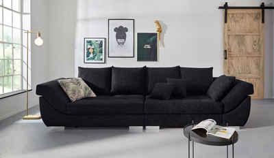 INOSIGN Big-Sofa »Rome«, Steppung im Sitzbereich, Federkern-Polsterung