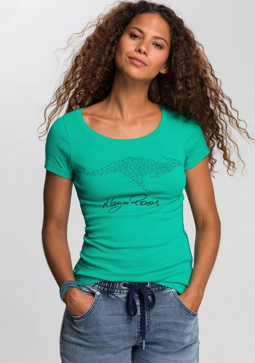 KangaROOS T-Shirt mit großem Label-Druck