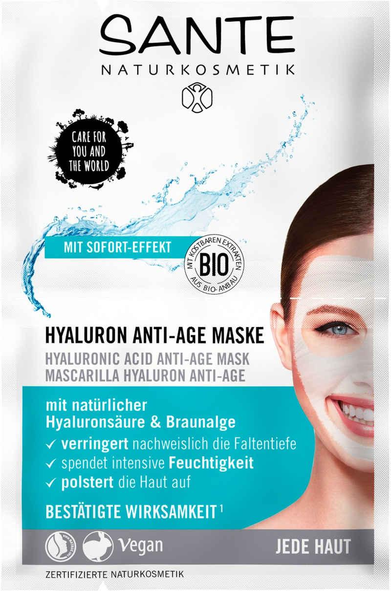 SANTE Gesichtsmaske »Hyaluron Anti-Age Maske«