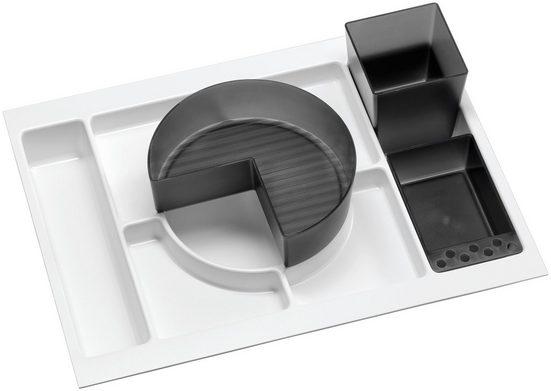 FACKELMANN Badorganizer »Schub« (4 Stück), Einsatz im Unterschrank für Bad-Unterschränke