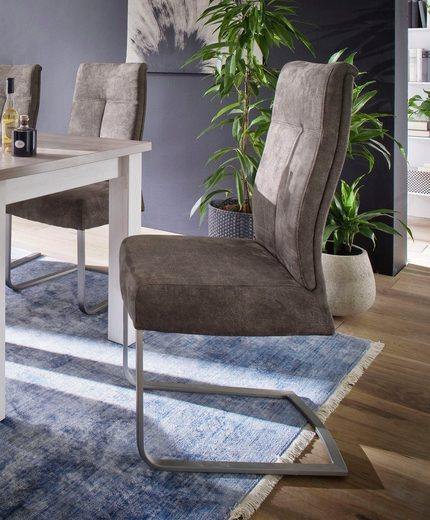MCA furniture Freischwinger »Talena« 2er-Set, Stuhl belastbar bis 120 Kg