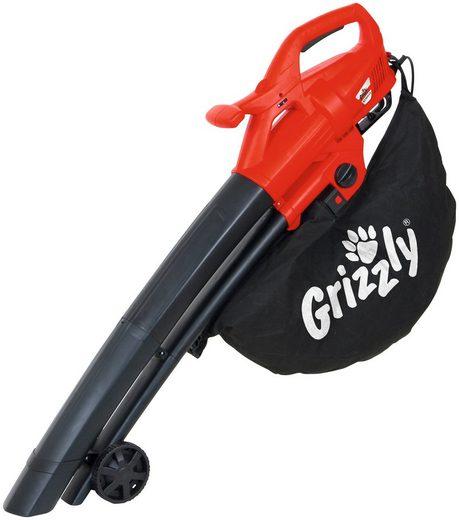 Grizzly Elektro-Laubsauger »ELS 2614-2 E«, 270 km/h Blasgeschwindigkeit