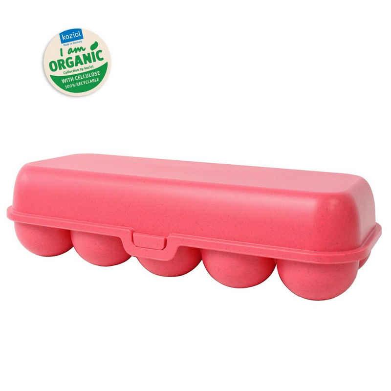 KOZIOL Frischhaltedose »Eierbox Eierdose Eieraufbewahrung«, Kunststoff