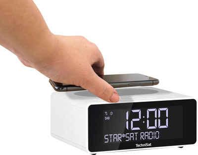 TechniSat Radiowecker »DIGITRADIO 52 Stereo« mit DAB+, Snooze-Funktion, dimmbares Display, Sleeptimer, Wireless Charging