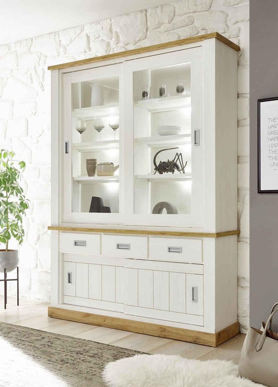 Home affaire Buffet »ORLANDO« im romantischen Landhaus-Look